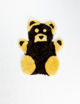 Teddy Bear / Black-Yellow