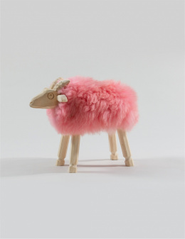 Chair - Decorative ram / Pink