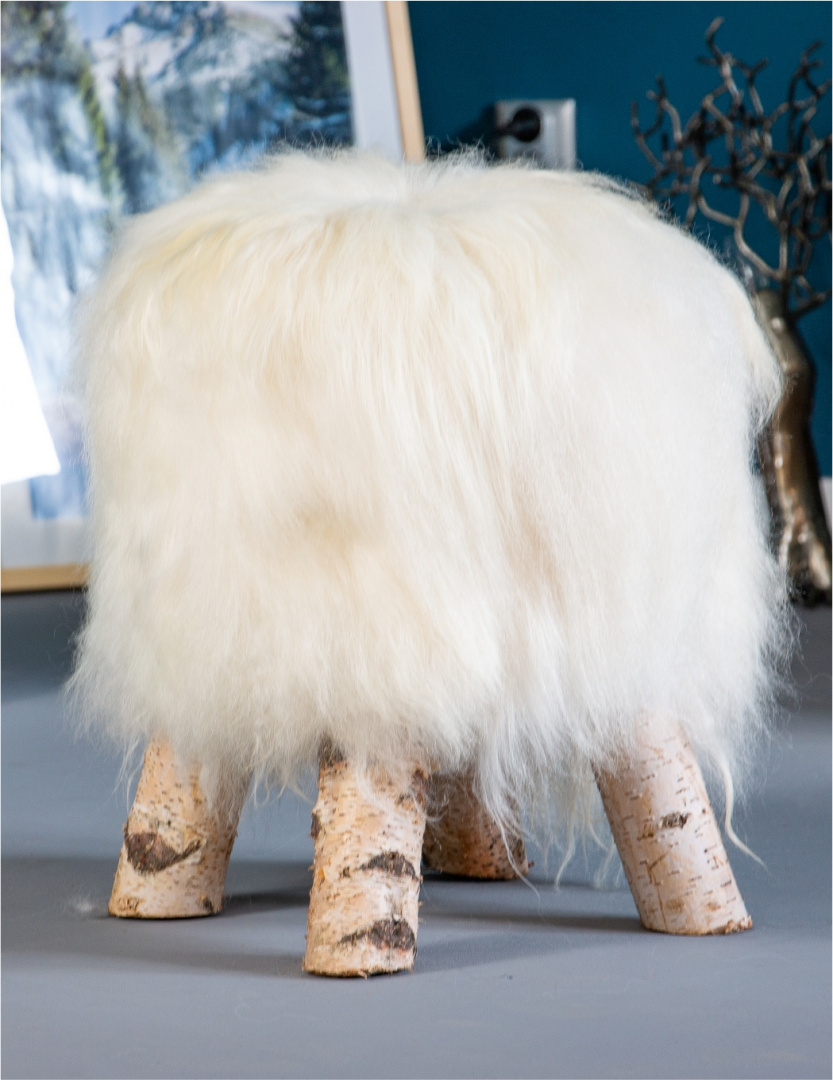 Sheepskin Chair / White