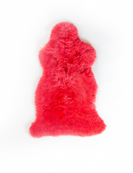 Colored Sheepskin / Red