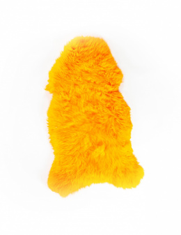 Colored Sheepskin / Orange