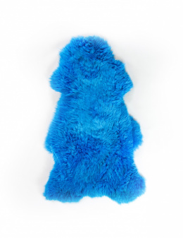 Colored Sheepskin / Blue