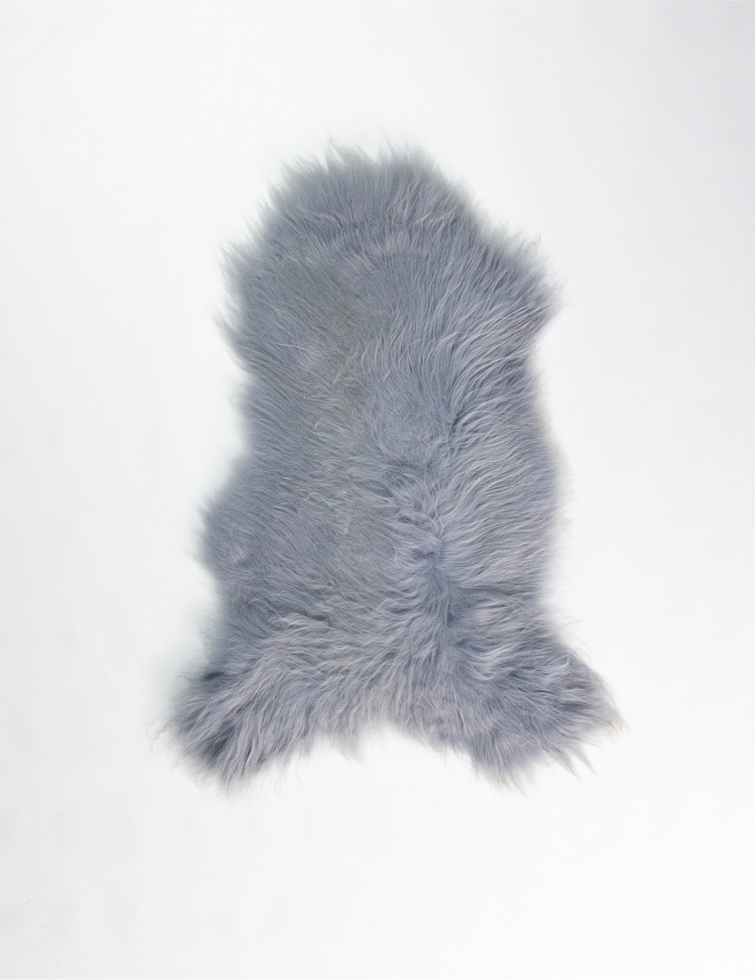Colored Sheepskin / Silver
