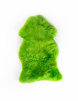 Colored Sheepskin / Green