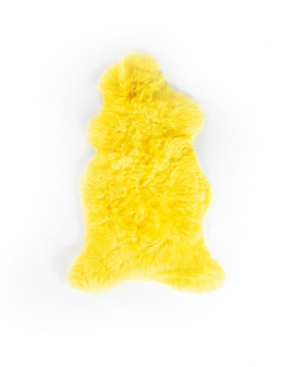 Colored Sheepskin / Yellow