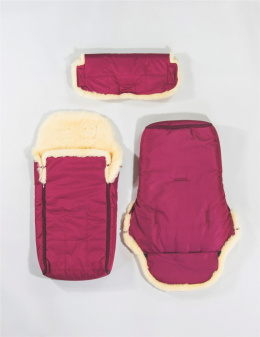Sleeping Bag for Children / Burgundy
