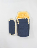 Sleeping Bag for Children / Navy Blue and Blue